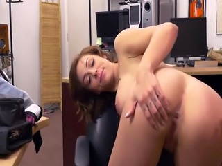 Amateur big tits Harlow Harrison gets hammered by Shawns huge cock