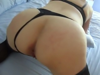 Flogger, spanking and sex with T.