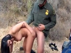 Cop mouth fuck first time Stunning Mexican floozie Alejandra Leon