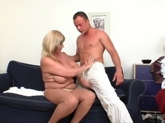 This sensual massage was done so good, that this busty blonde milf Lily, was...