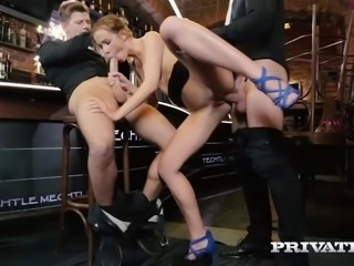 After some intense anal action, this slut enjoys some hardcore DP that can...