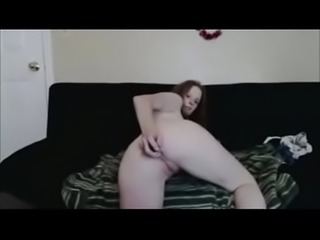 redhead milf fucks herself anally - SexyStreamate.com