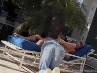Take your time, relax and take a look at this sensual, hot summer video, in which busty latina milf Margo Stevens, sucks Peter's meaty dick right on the seashore, after he liked her wet pussy, and sucked on her hard nipples. Sexy blonde knows how to please him better.