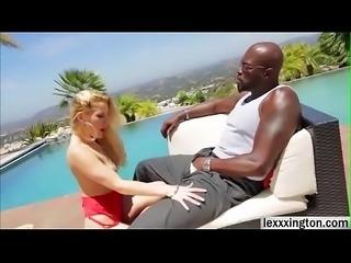 Hot porn babe Ashley Fires sucks gigantic black cock - www.hdpornmovies.xyz