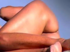 Sexy nudist  spanish beach girl cameltoe big tit