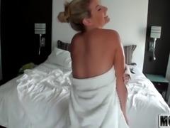 Sammi's Beach Body video starring Sammi St.Clair - Mofos.com