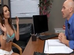 Sexy Schoolgirl gets it on with her Guidance Counsler