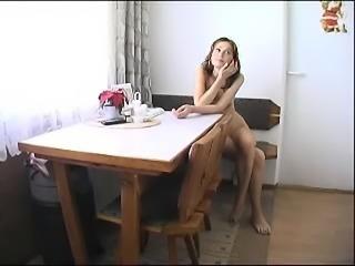 Small Tit Hottie Having Her Way