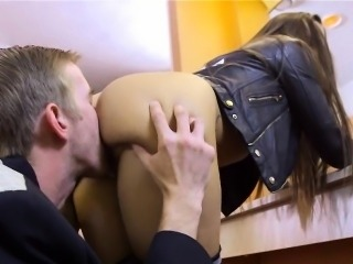 Bad Students getting Pussy in the Restroom