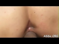 Sizzling sexy oriental anal sex