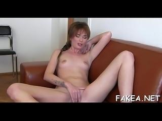 Porn casting clip