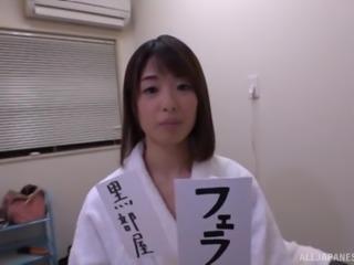 Dick craving nurse Kawakami Nanami makes a fellow hard with her skills