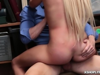 LP Officer enjoys fucking Zoey Clarks pussy