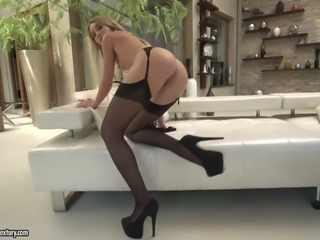 Katrin Tequila is a fly babe with a million dollar ass and this hoe loves sex