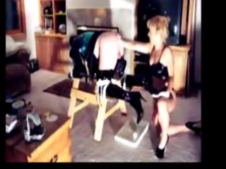 Anal pegging and fisting mistress Alice