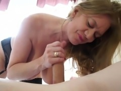 Lusty lady Lily has some free time on her hands, but instead of taking a nap,...