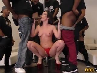 BBC Anal Gangbang And DP With Jennifer White