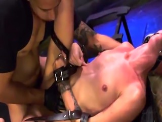 Anal punishment Halle Von is in town on vacation with her boycomrade.