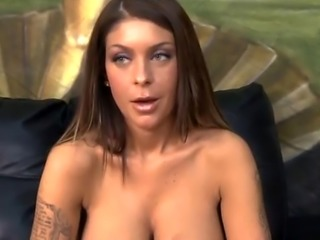 Big Titty Cheap Brunette Getting Her Face Fucked Very Hard