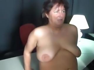 Chubby mature German