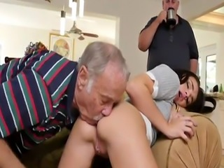 Girl fucks guy in ass hentai Riding the Old Wood!