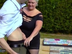 Compilation of mature old granny chubbies enjoying hardcore sex