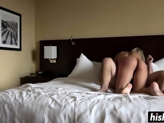 Busty Harlow Harrison gets pounded hard