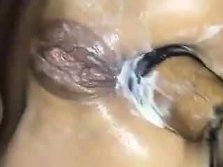 Crazy slut analed and fisted