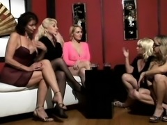 Group sex with brunette girl