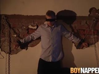 Chris Jansen gets punished by mature deviant Sebastian