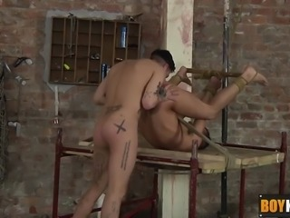 Mickey loves fucking that tight hole after the pair Rimjob