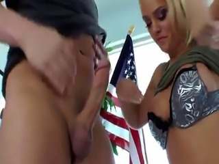 Rimming mistress plays with slaves jizz