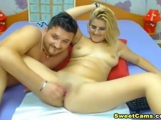 Horny Real Life Couple Hard Fucking on Cam