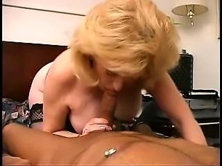 Another slender mature blonde