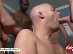 bald stud loves bukkake