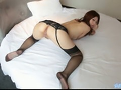 Young Chinese Model 01  Sexy Babe Home Alone