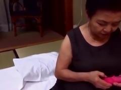 Japaneese granny, siep1 - mastubation