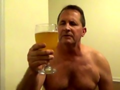 Pervert Tom Pearl Drinks His Piss