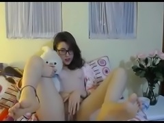 Nerd girl spreading hairy pussy show on cam xxx - watchfreewebcam.com