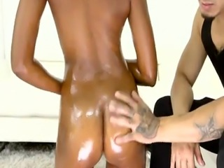 Roundass nubian babe riding hard cock