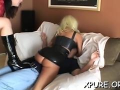 Sexy facesitting treatment