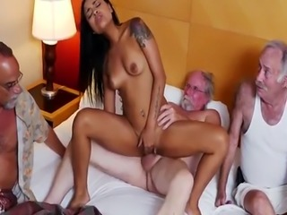 Handjob cum on breasts car cumshot Staycation with a Latin Hottie