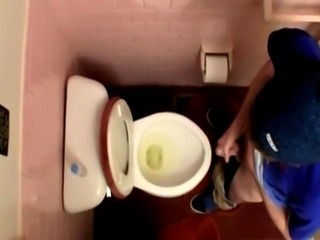 Emo gay porn xxx hardcore Unloading In The Toilet Bowl