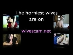Married wife cheating on cam with friend