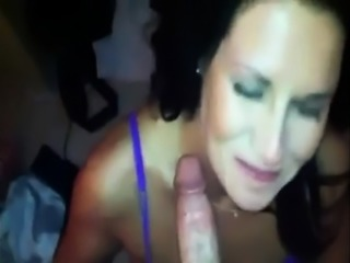 Brunette takes big cock up the ass