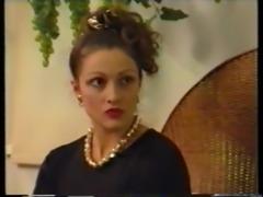 Elegant mademoiselle learns fast