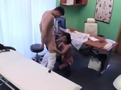 Sex Siren Vicky Love Enjoys Big Cock Of Doctor