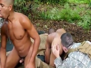 Army hunk loves anal drilling