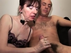 Sexy amateur getting a hardcore throat massage
