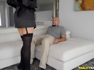 Blake Morgan seduces a handsome lover for a great sex session
